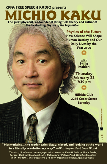 michio kakus vision of the future Internationally recognized scientist dr michio kaku is a theoretical physicist and   for bbc-tv about the future of science, called visions of the future it aired in.